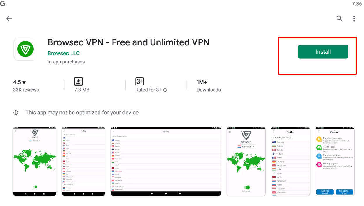 Browsec VPN for windows