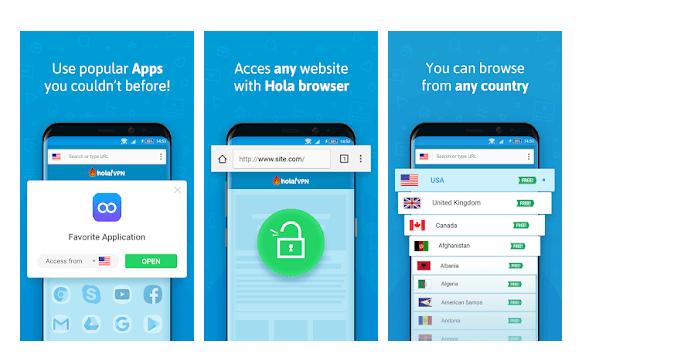Hola Free VPN for windows