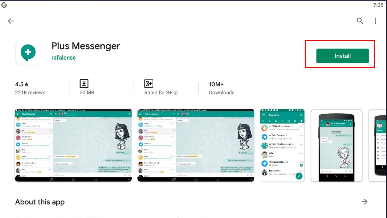 Plus Messenger for windows