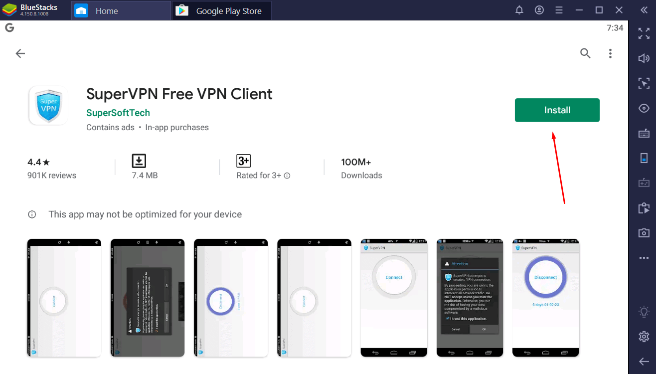 Super VPN for windows