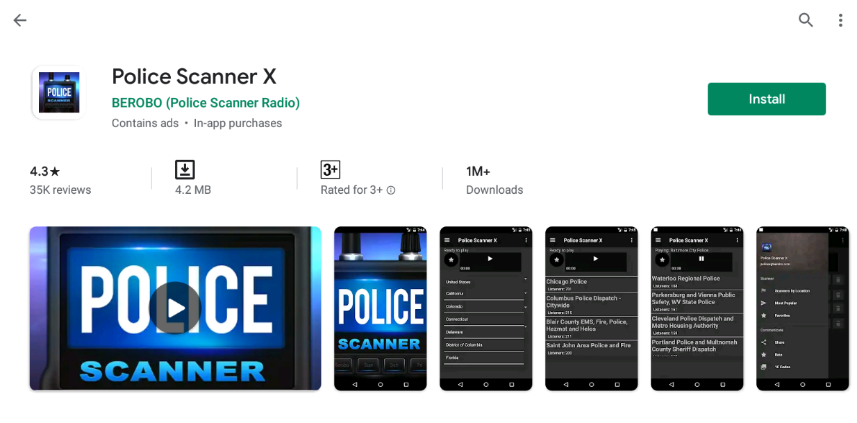 Free Police Scanner For Windows