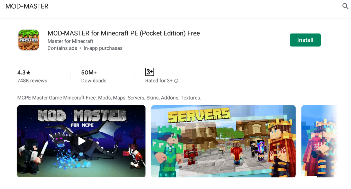 Mcpe Master For Windows