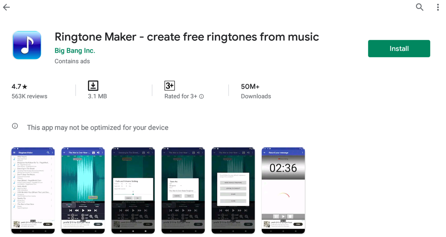 Ringtone Maker For Windows