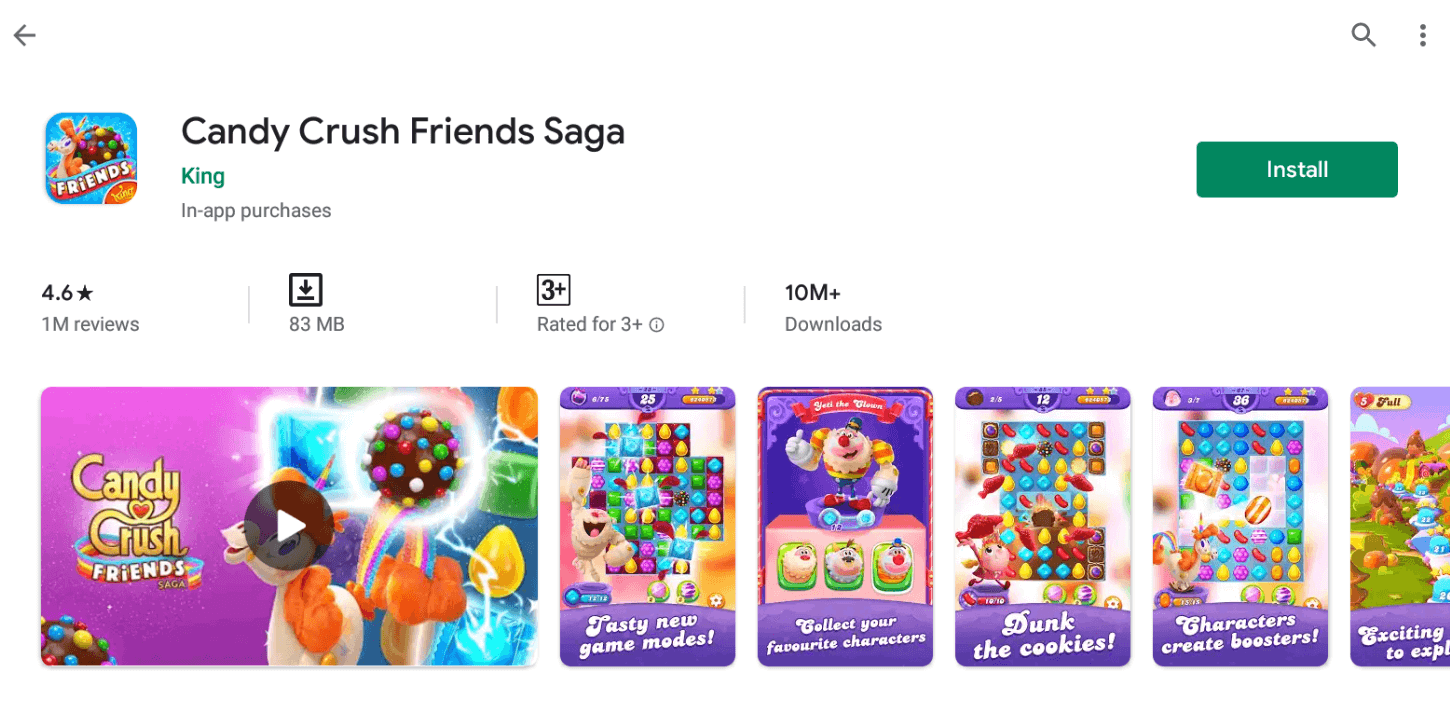 Candy Crush For Mac