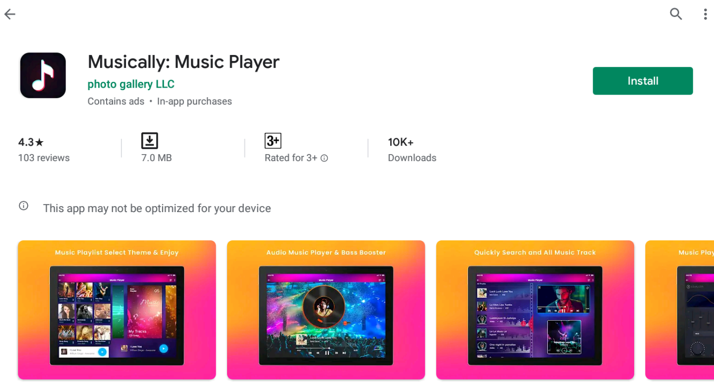 Musically For Windows