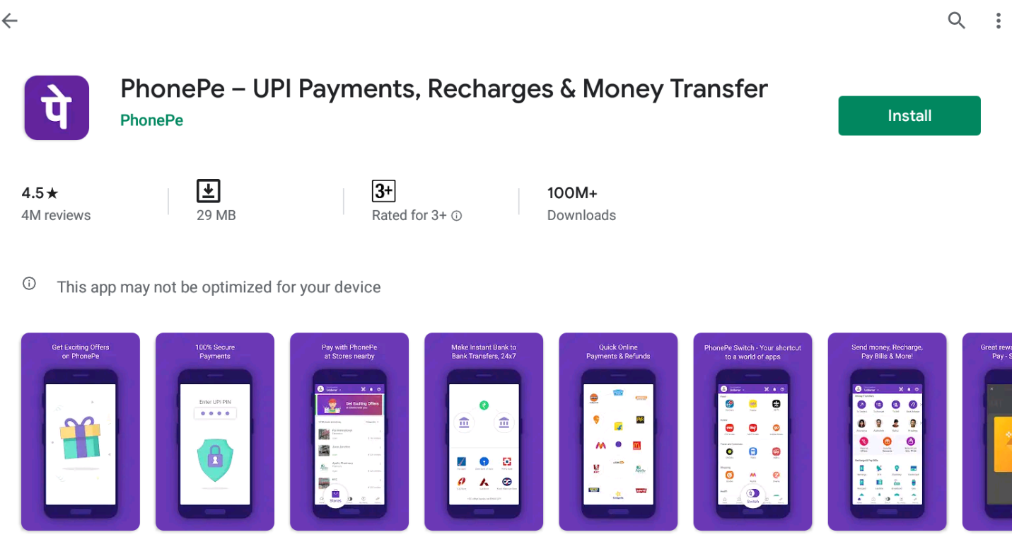 Phonepe For Windows