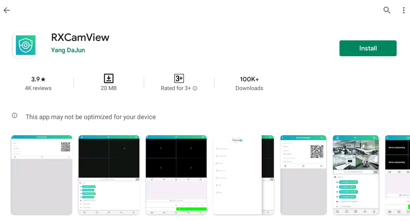 Rxcamview For Windows