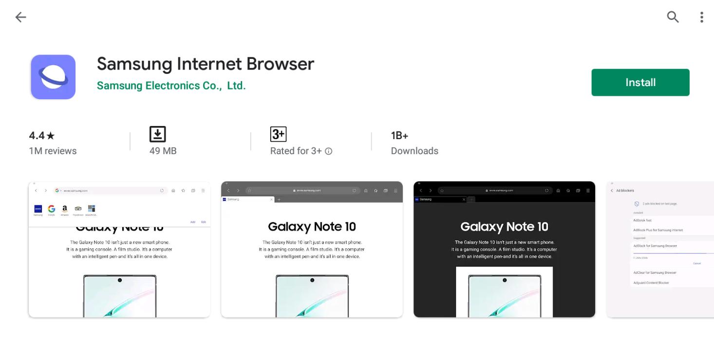 Samsung Internet Browser For Mac