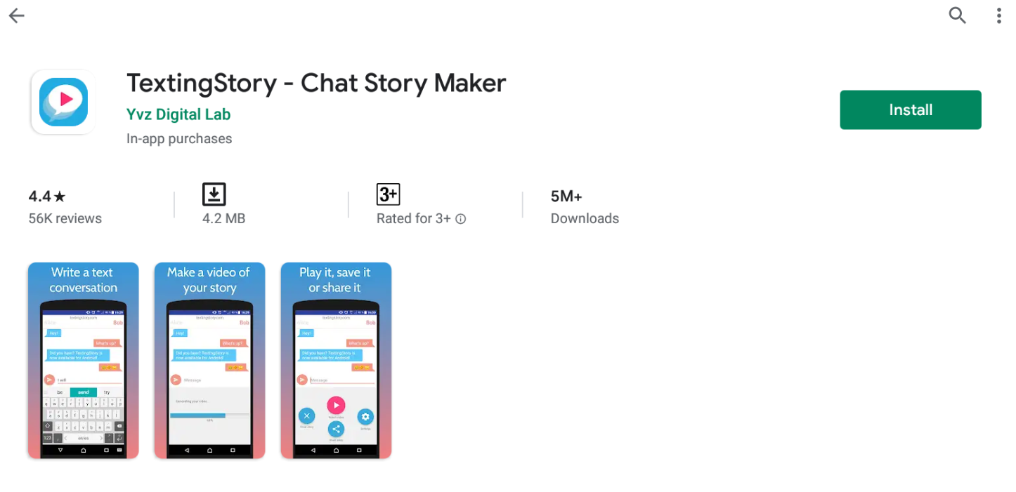 Texting Story For Mac
