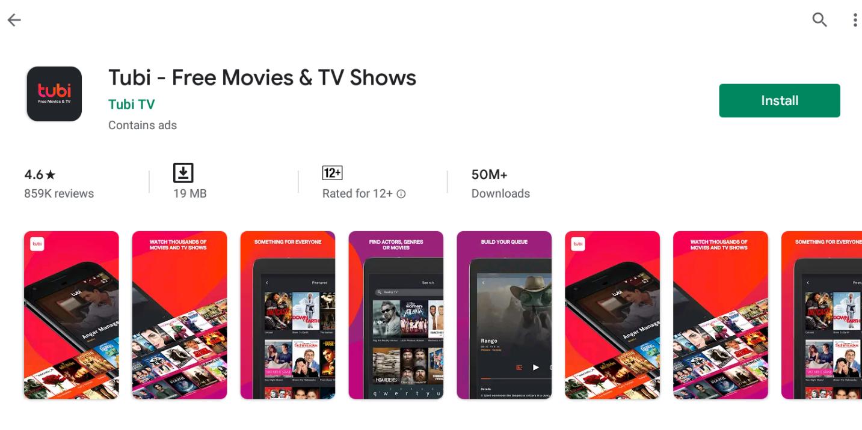 Tubi TV Download For Windows