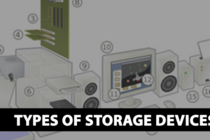 types of storage devices