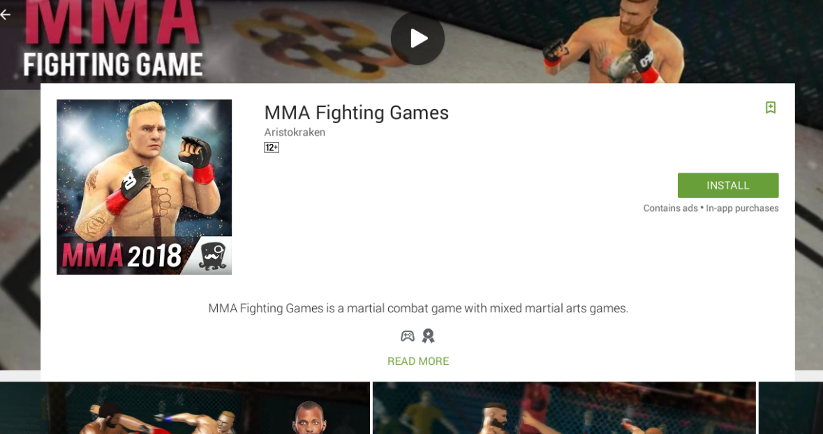 MMA Games for mac