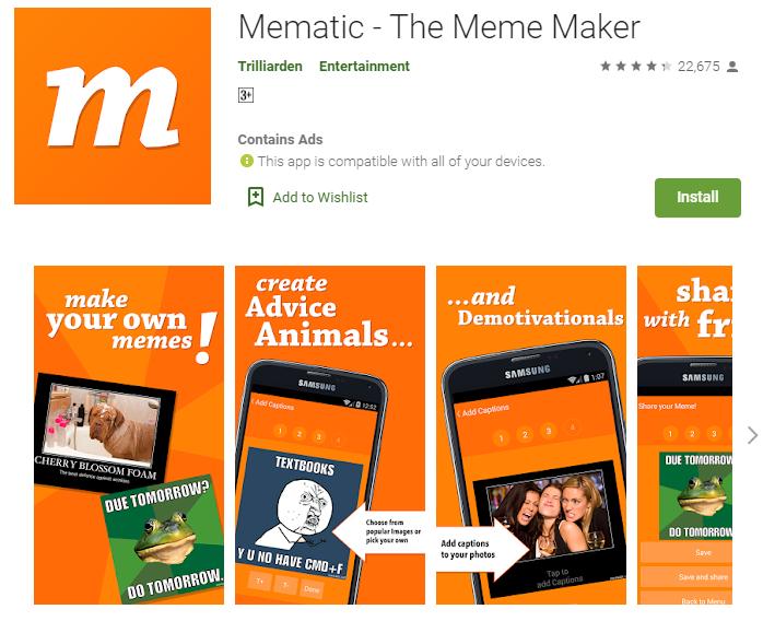 Mematic for mac