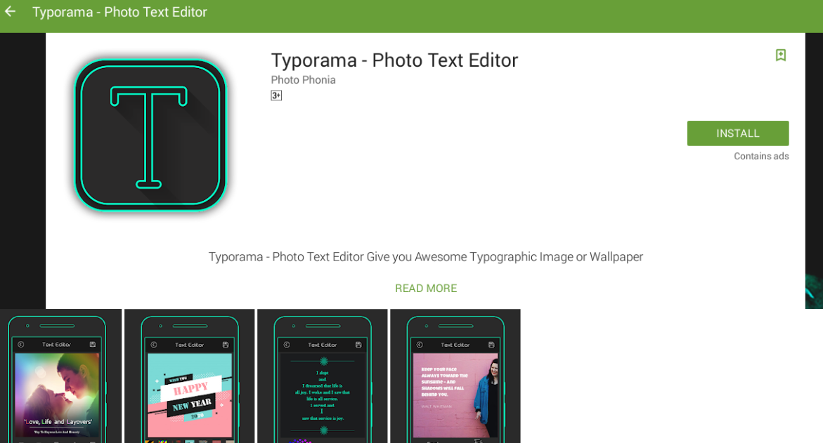 Typorama for mac