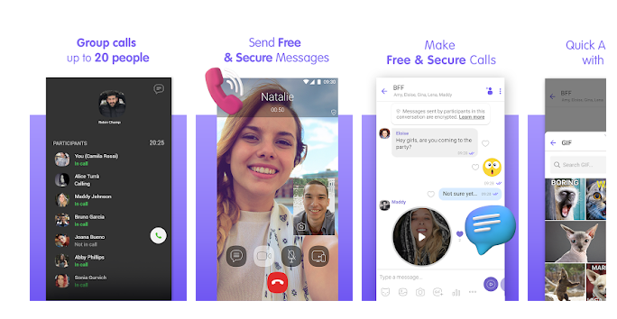 10 Viber Messenger - Messages, Group Chats & Calls