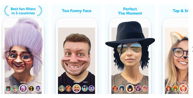 2 Banuba - Live Face Filters & Funny Video Effects