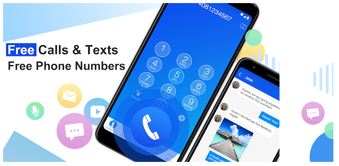 4 Free phone calls, free texting SMS on free number