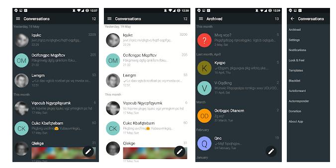 5 YAATA - SMS MMS messaging