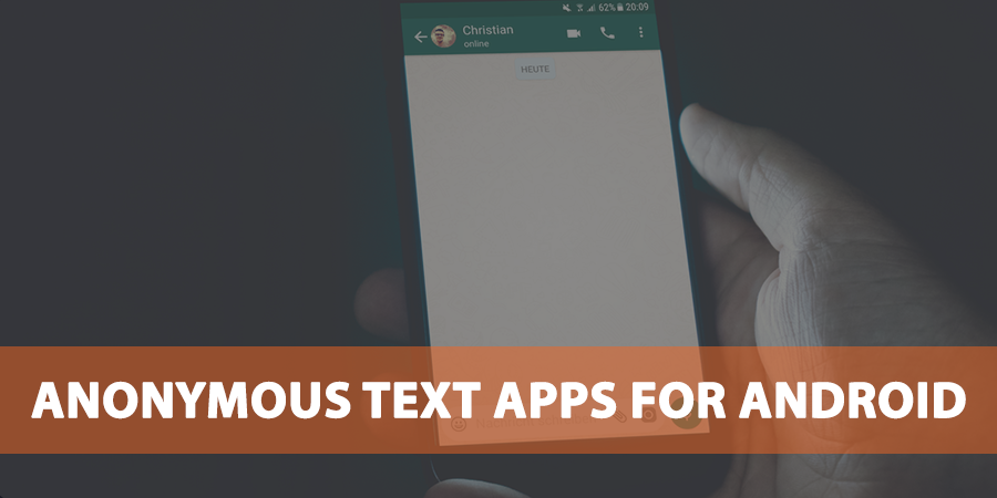 Anonymous-Text-Apps-for-Android
