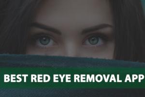 best-red-eye-removal-app