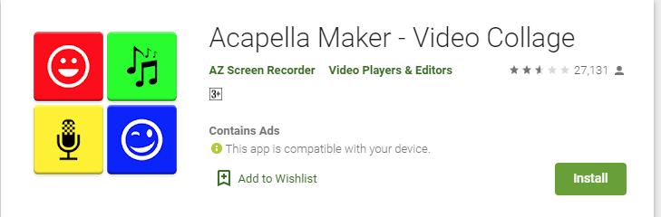 Acapella Maker for mac