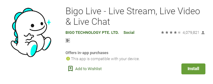 BIGO LIVE app for mac