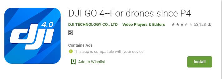 DJI App for Mac
