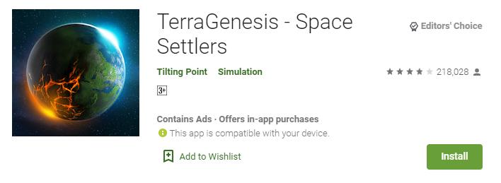 Games Like Terragenesis For mac
