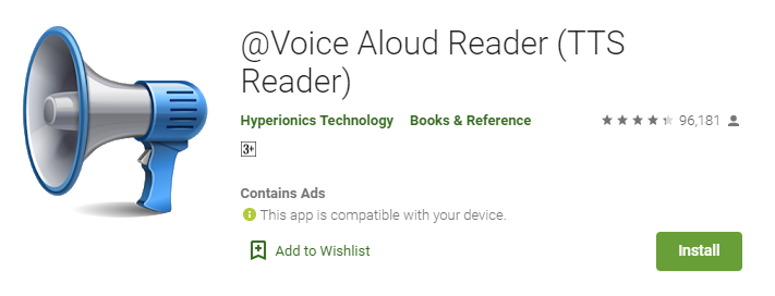 Voice Aloud Reader for mac