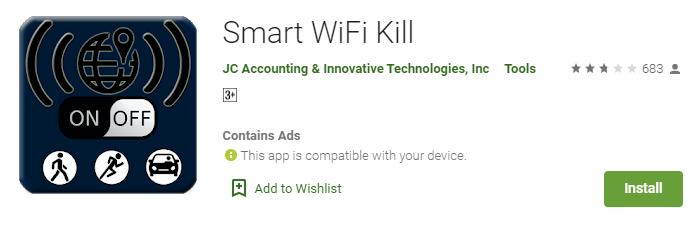 WifiKill app for mac
