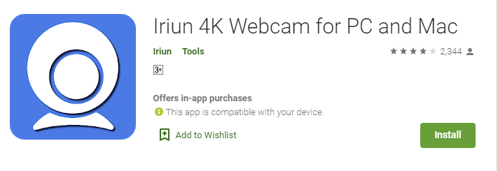 Wireless webcam for windows