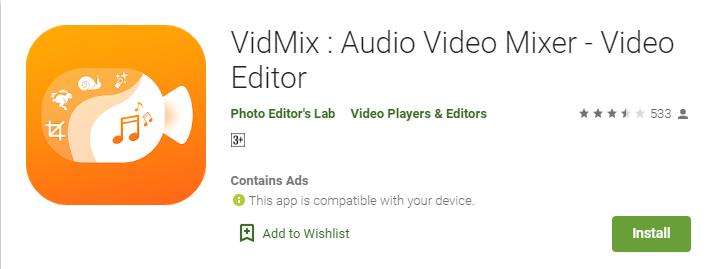 vidmix for windows