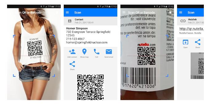 1 QR & Barcode Scanner