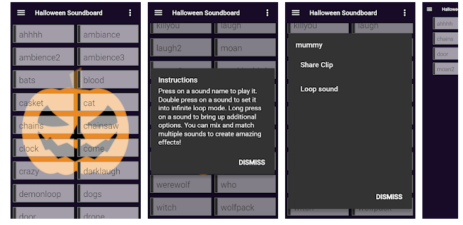 3 Halloween Soundboard