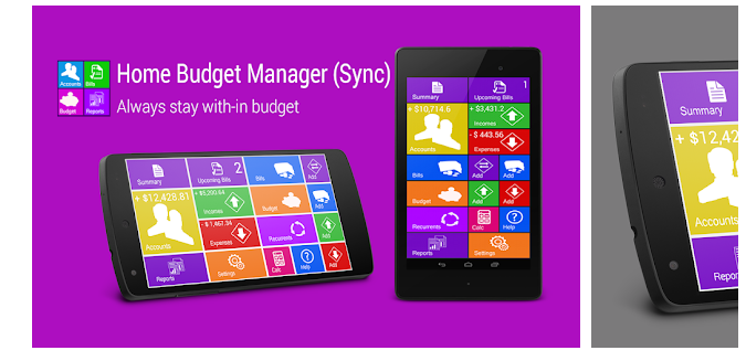 4 Home Budget Manager Lite With Sync