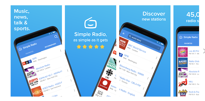 5 Simple Radio