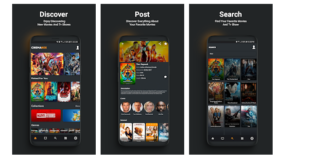 Cinema Box app for PC