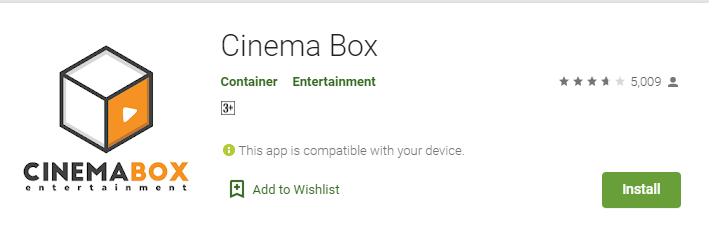 Cinema Box app for mac
