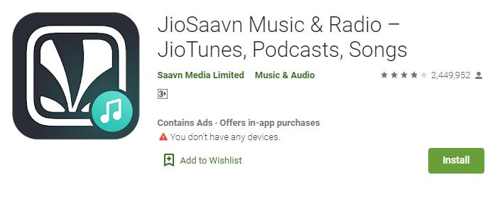 Jio Music app for mac