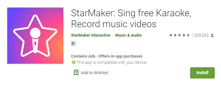 StarMaker for windows