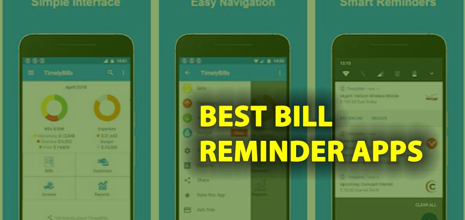 best-bill-reminder-apps