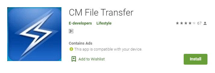 cm transfer for windows