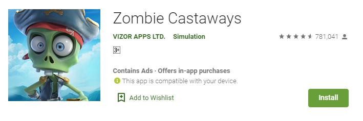 zombie castaways for mac