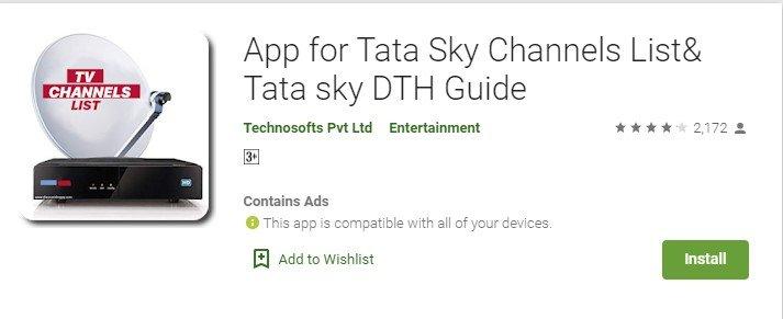 Tata Sky App for mac