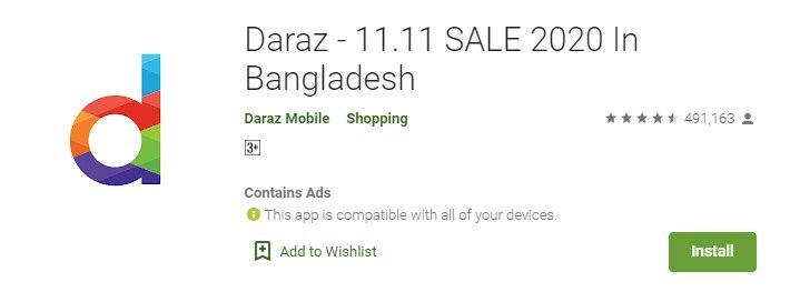 daraz for mac