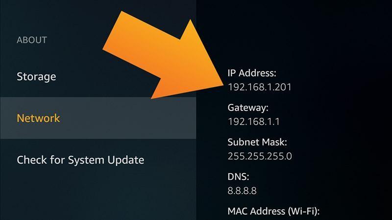 How do I change the MAC address on my Amazon Fire Stick