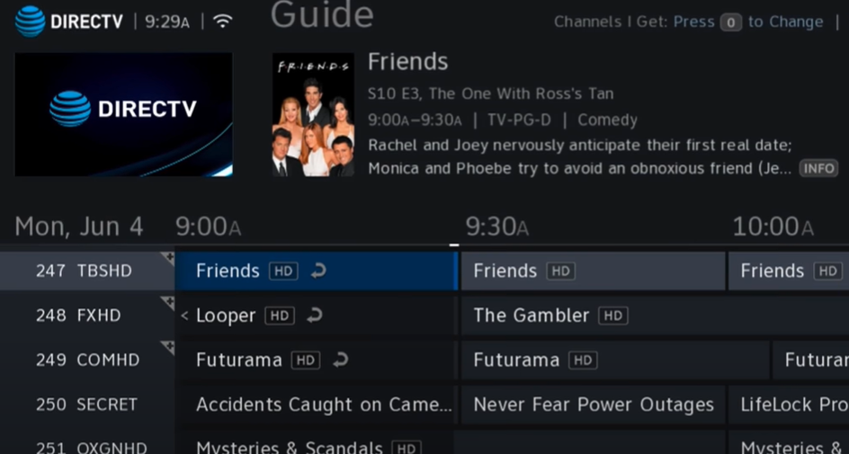 After creating an account in the Directv application, launch it from your Firestick device