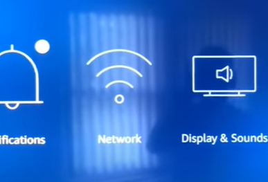 At first, turn on your smart Tv that is connected with the Firestick device