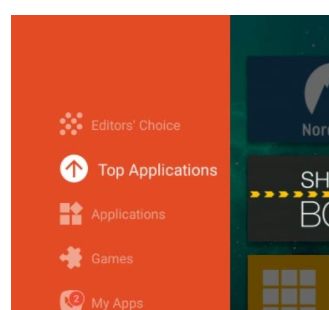 By searching the Showbox application from Editor's Choice
