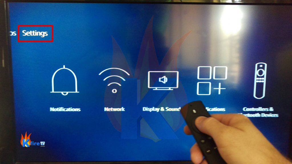 Make a reset to your Firestick device 1
